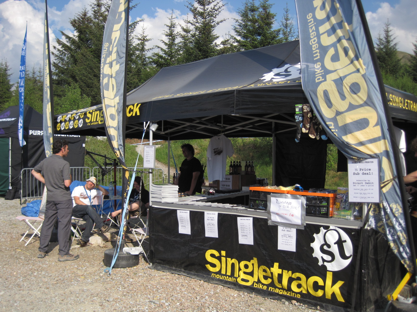 The Singletrack stand