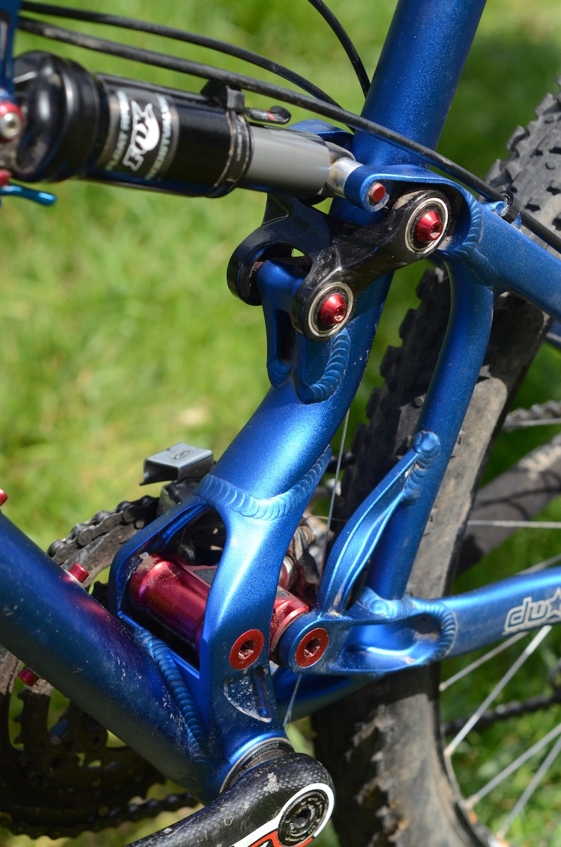 The DW Link suspension system.