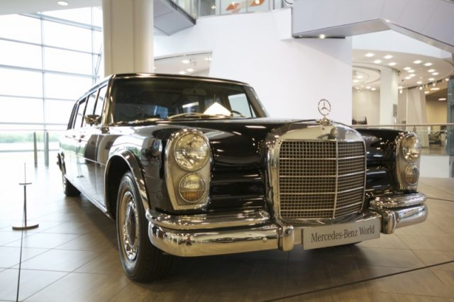 The 600 Pullman limo - as owned by Idi Amin and Jeremy Clarkson