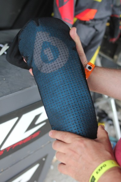 These look quite interesting - pull on knee and shin pads that use high density foam with a stretchy wraparound back.