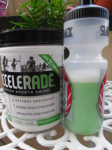 Accelerade use a 4:1 mix of carbs and protein - but does it work?