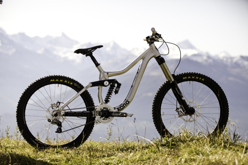 The 170mm travel Kona Operator is made for parks, mini DH and general gravity bike fun
