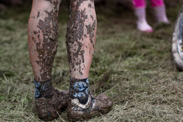 Singletrack socks: good for all conditions. Picture: Jon Woodhouse