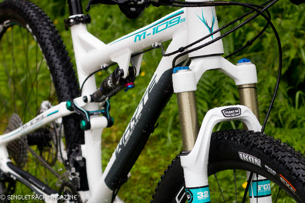 Big wheels, four bars and sublime handling - the Whyte M-109 S