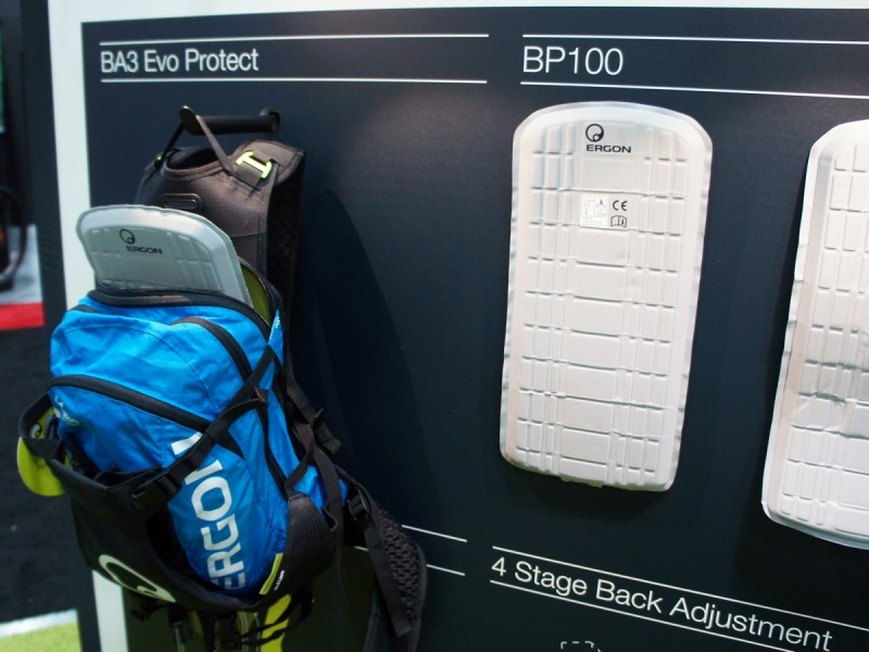UCI-approved back protection