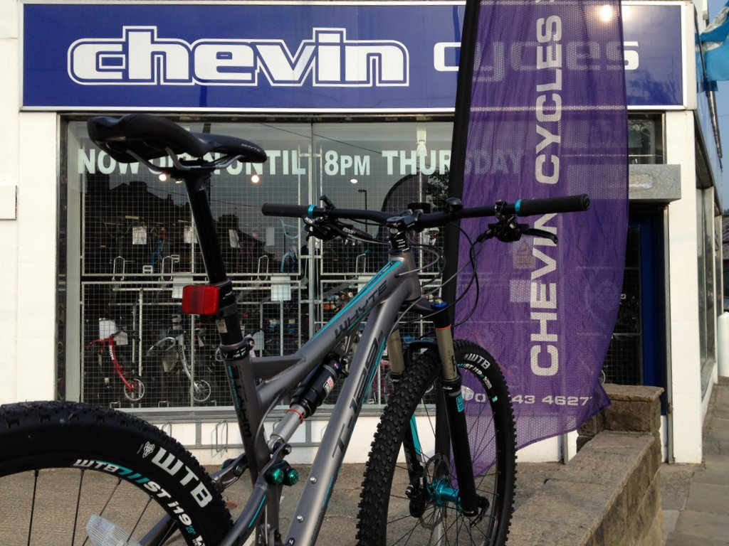Chevin's hottest product - The Whyte T129. In store now.