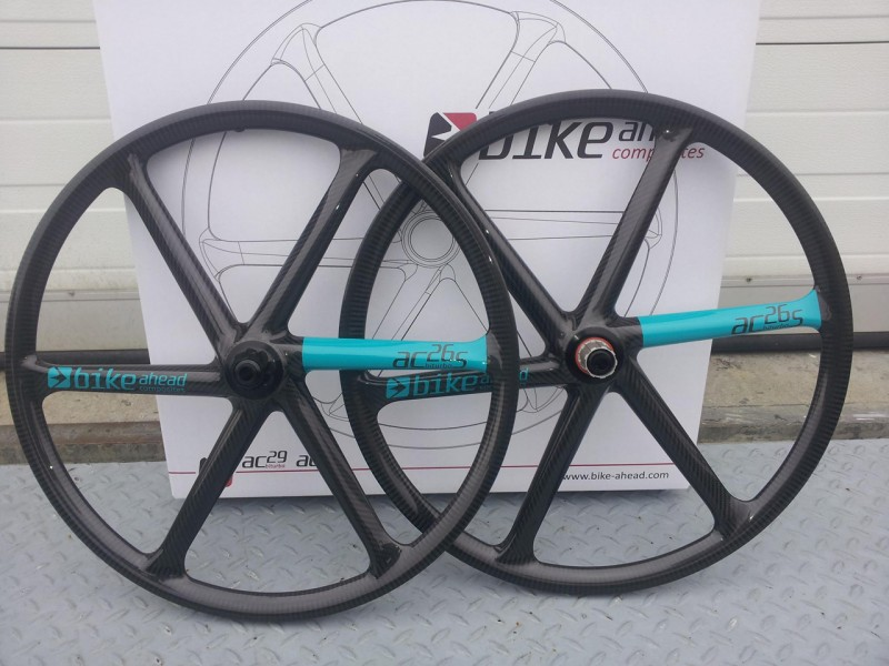 Bike ahead composites german made carbon wheels for Making bicycle wheels