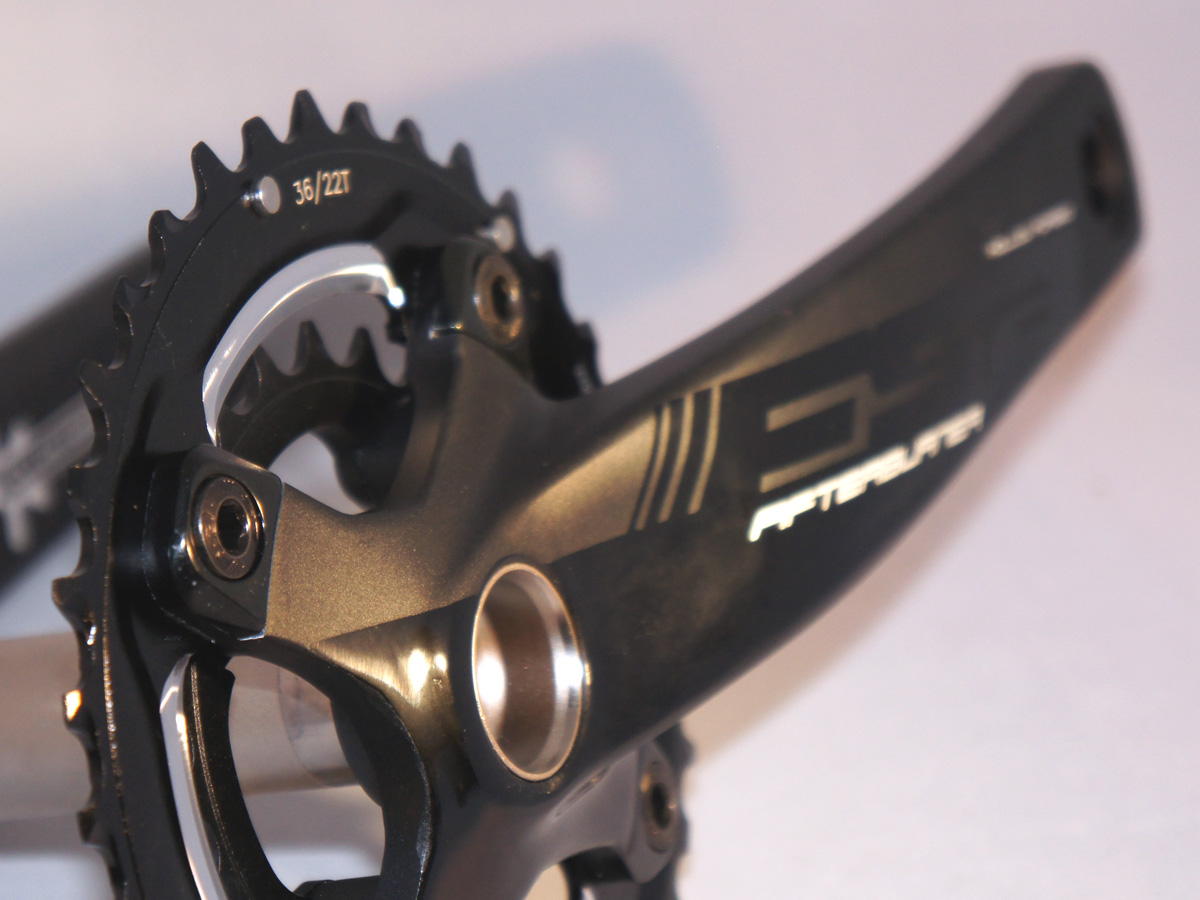 Tidy tab covers, offset chainrings