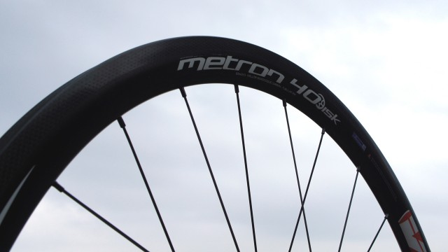 40mm Metron carbon wheel