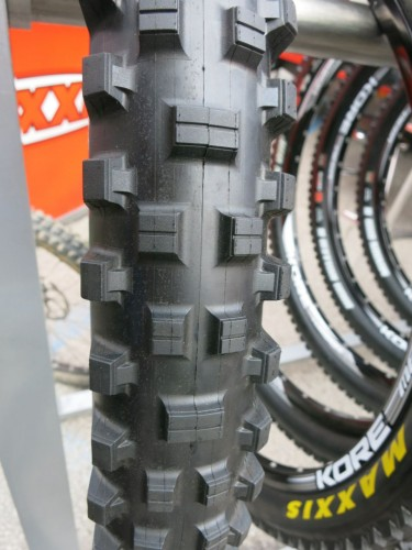 Maxxis Shorty looks perfect for the current wet conditions