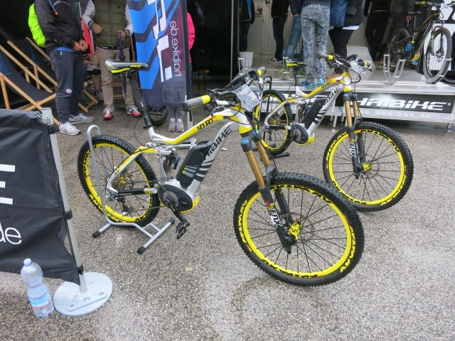 Haibike e bikes are proving popular demo's