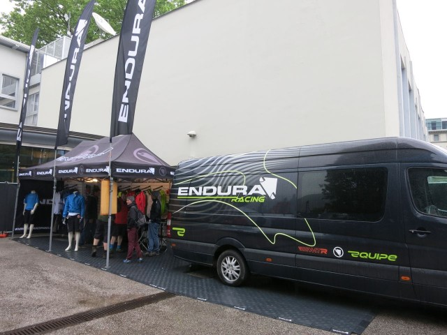 It's not all strange euro brands, Endura are here too