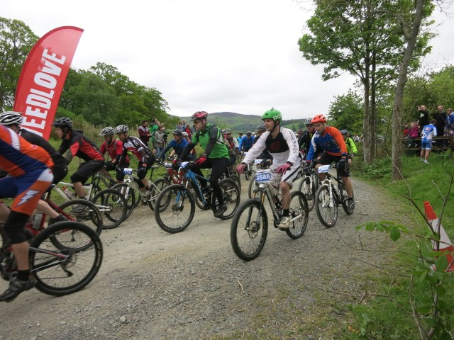 Start of the Glentress Seven