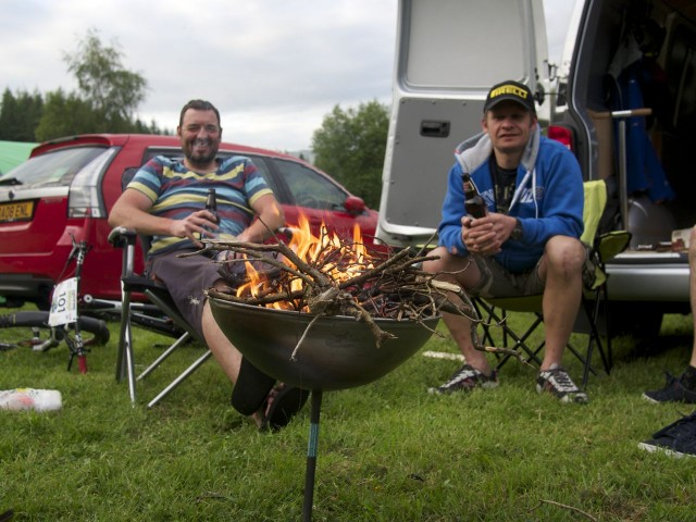 Grass roots racing and low key camping - what it's all about