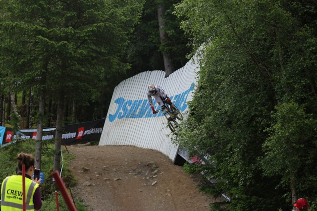 Steve Peat Giving The Crowd Something To Scream About