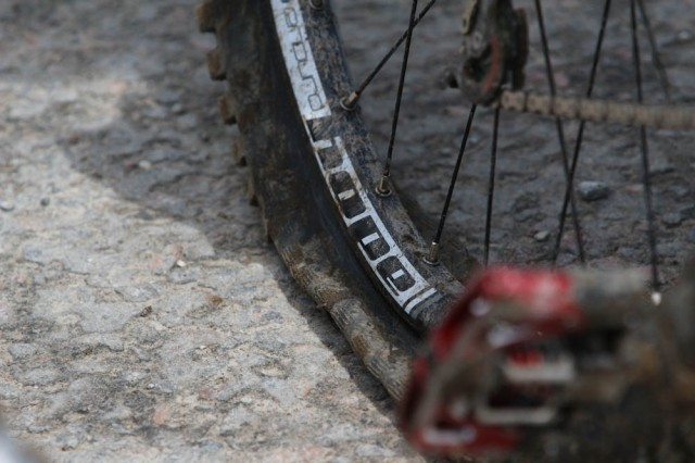 Nothing Worse Than Puncturing In Your Race Run, Unfortunately This Was A Familiar Site For A Lot Of Riders