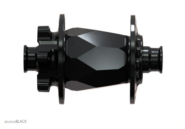 Absolute Black hub front