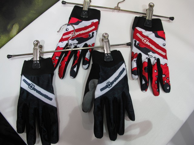 …and gloves too.