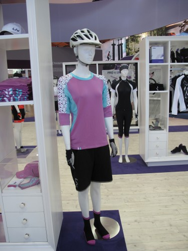 A comprehensive product collection includes women specific bikes, apparel and gear.