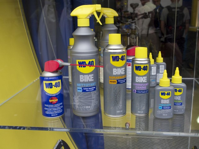 WD40 move into proper lube territory