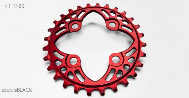 Compliments 26-30t aB chainrings