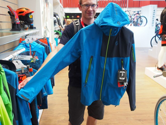 Full on stormproof jacket with hood
