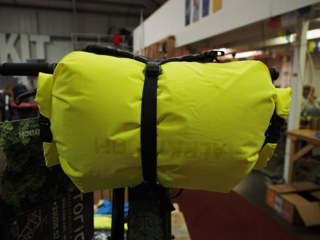Double entry dry bag