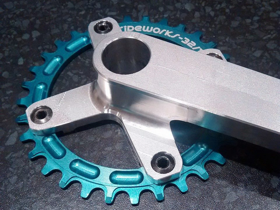 A lot of billet died to make that crankarm