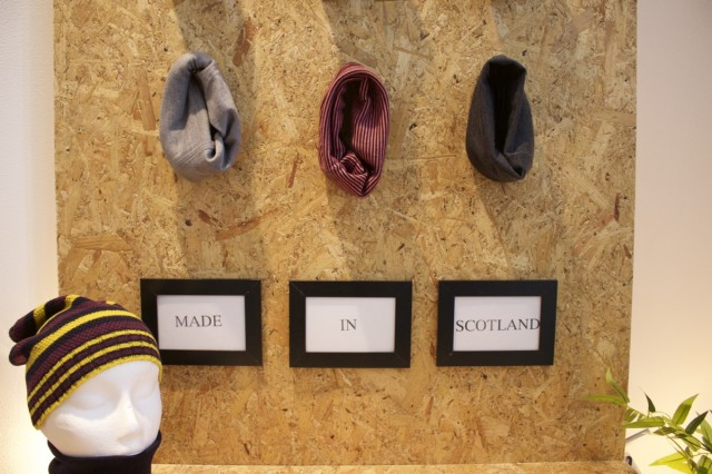 Made. In. Scotland. Neck warmers.