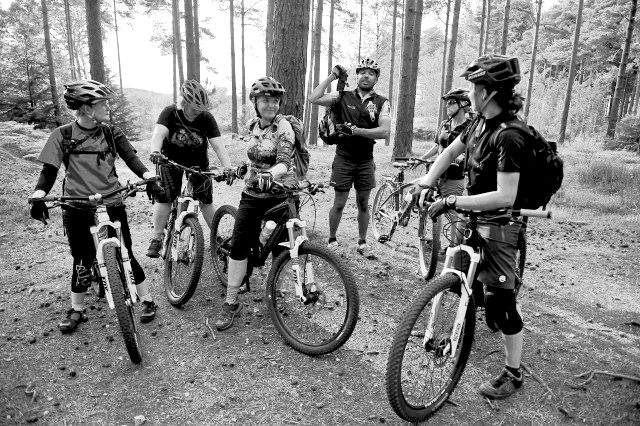 vic alker mountain bike singletrack magazine women