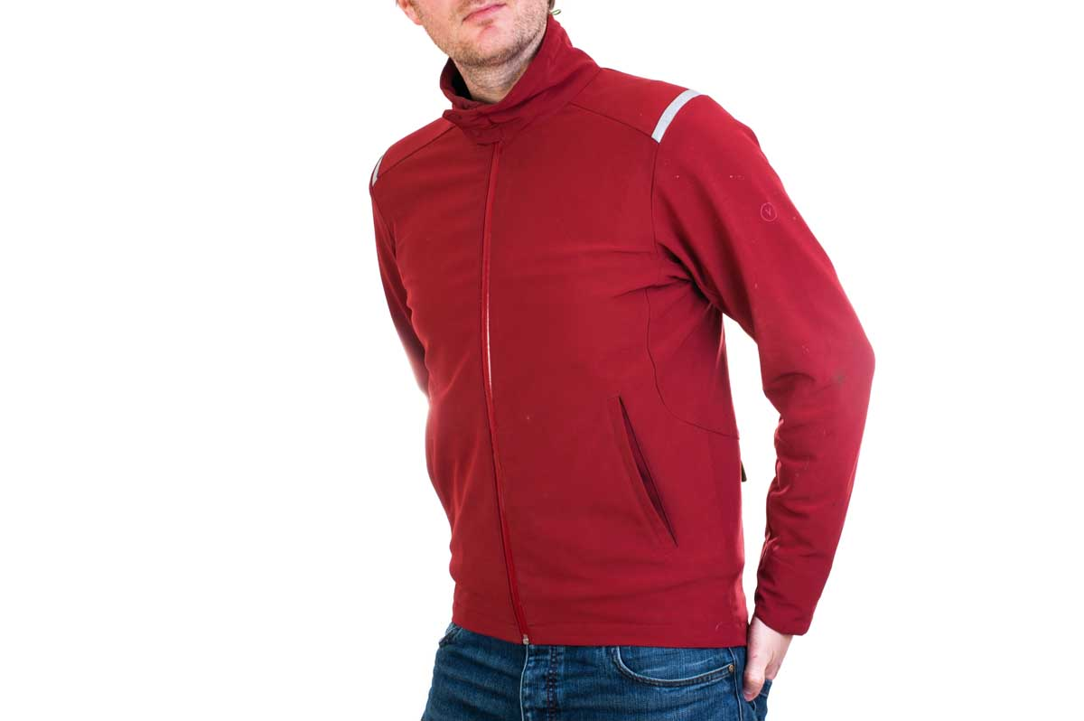 Men's vulpine soft shell jacket