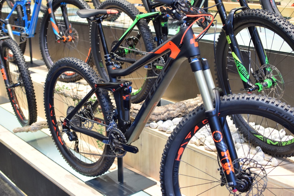 Their stand for Eurobike 2015 was enormous, with over 60 models of bike on show.