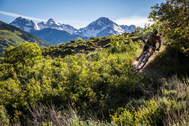 Enduro in the deep heart of the American Rockies