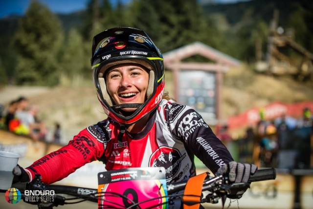 Isabeau Courdurier delighted with her performance