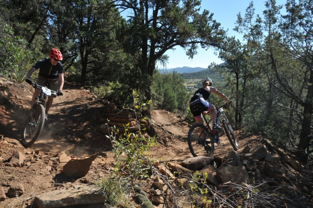 The Todd and Ned Fondo drew 300 cyclists to Durango, Colorado to celebrate the 25th anniversary of the 1990 World Mountain Bike Championship. September 12, 2015. Photo by Tom Moran