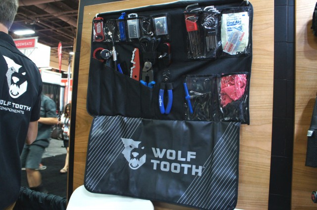 Are you organised? (Apologies to the Jimi Hendrix Experience) Wolf Tooth's Travel Tool Wrap