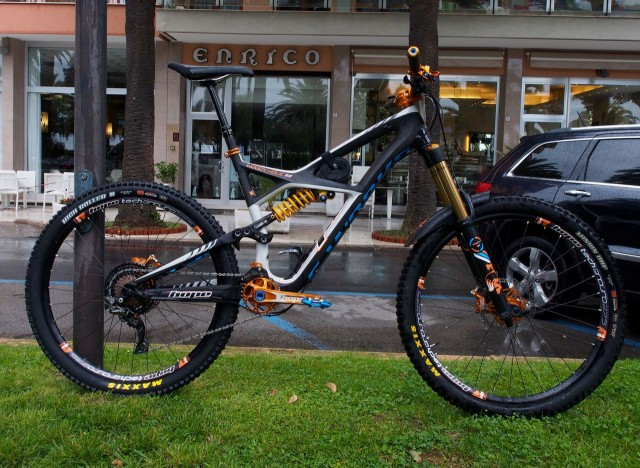 Woody's Enduro with all the orange