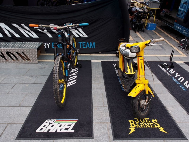 One team, two different approaches to racing