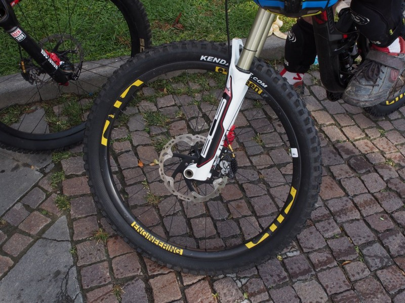 E*Thirteen proto carbon rims? We've got a full story coming