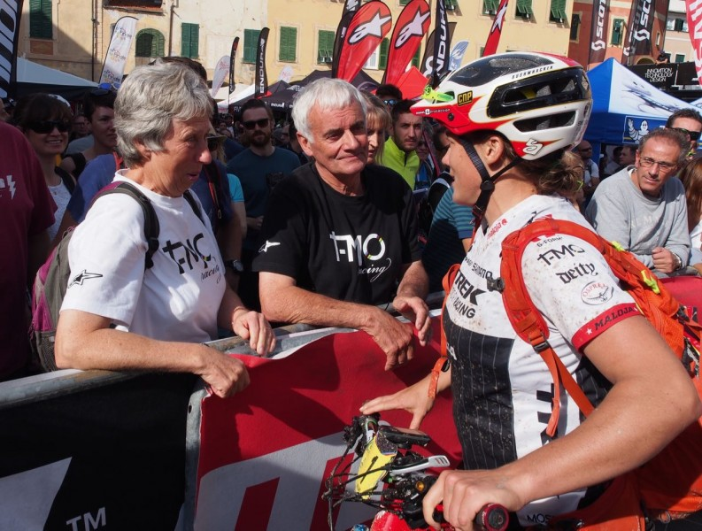A quick word with Mum and Dad - tracey moseley 2015 ews enduro world series champion