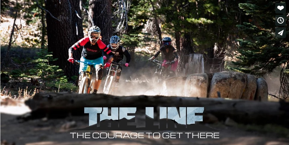 the line the courage to get there singletrack magazine video