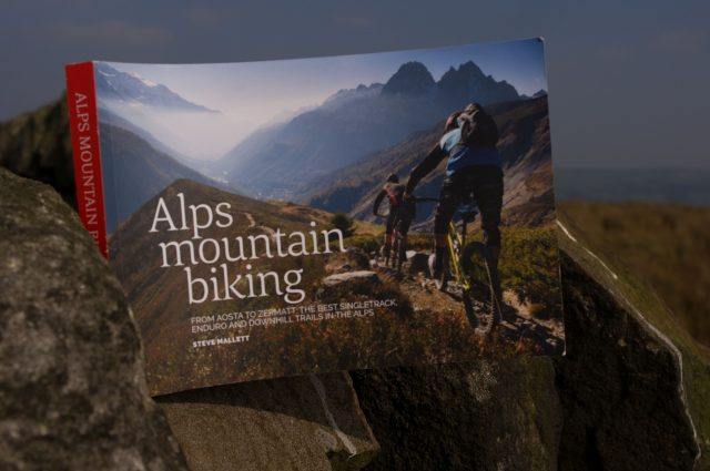 singletrack magazine alps mountain biking guide book