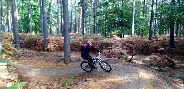 Riding it Swinley Style