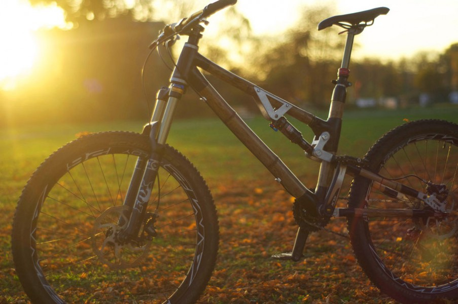 Bamboo Full Suspension Frame Debuts In Germany