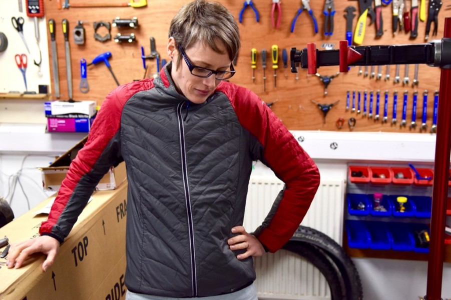 Howies quilted jacket