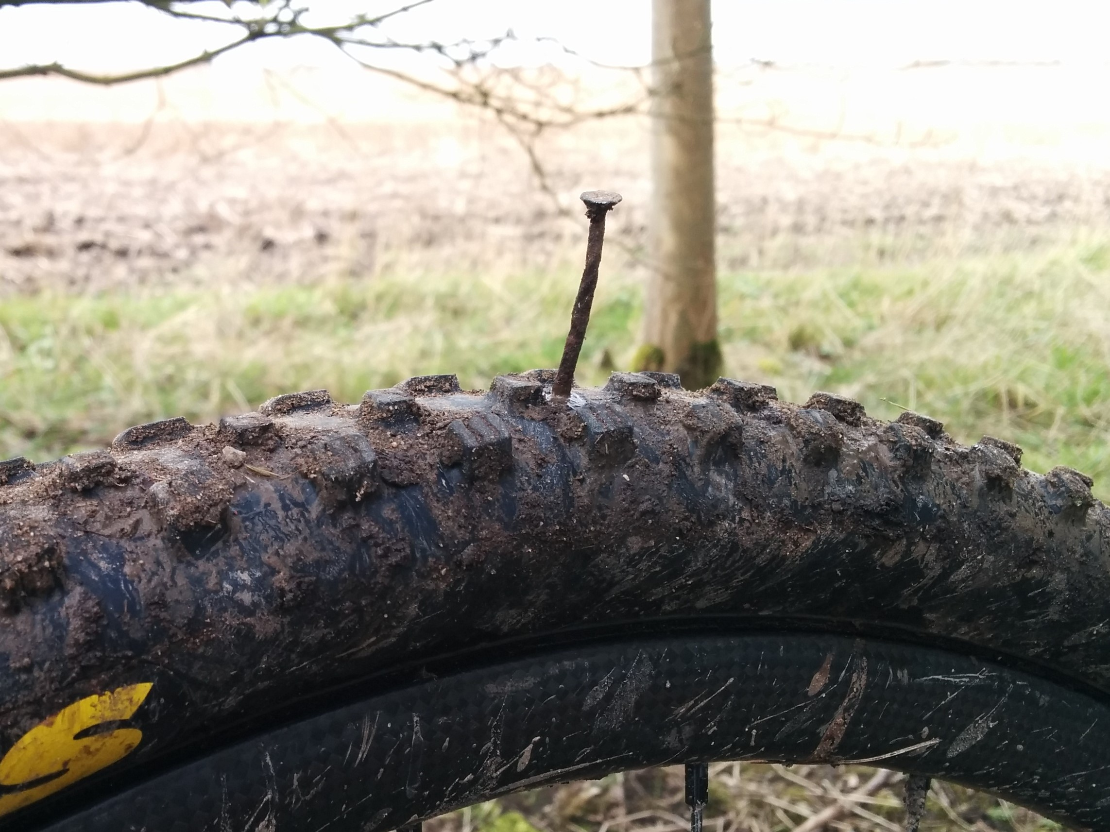 30 Days of Biking Puncture Nail