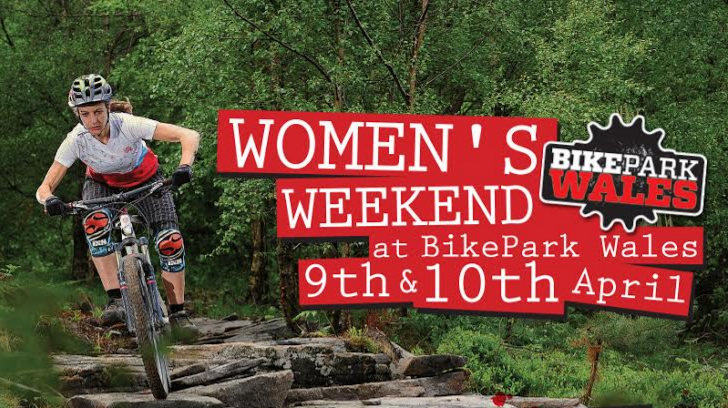 BikePark Wales, women, women's weekend
