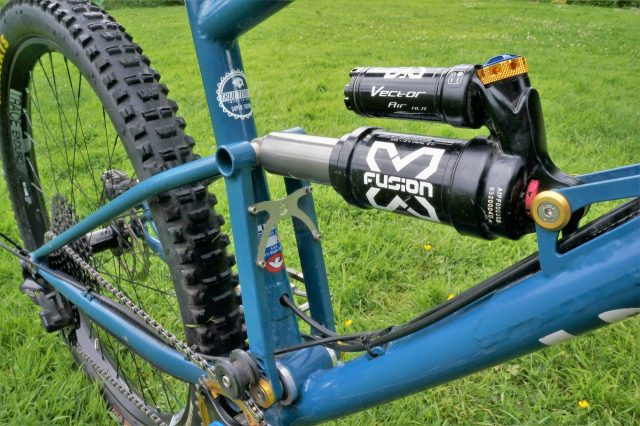 X-Fusion suspension brings the bounce