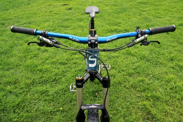 If you buy the forks for me, I'll cut the steerer down