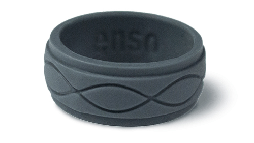 One of hundreds of patterns and colours available Enso Rings photo